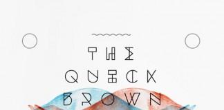 Dessau Font - Geometric Typeface Design Javier Fuentes