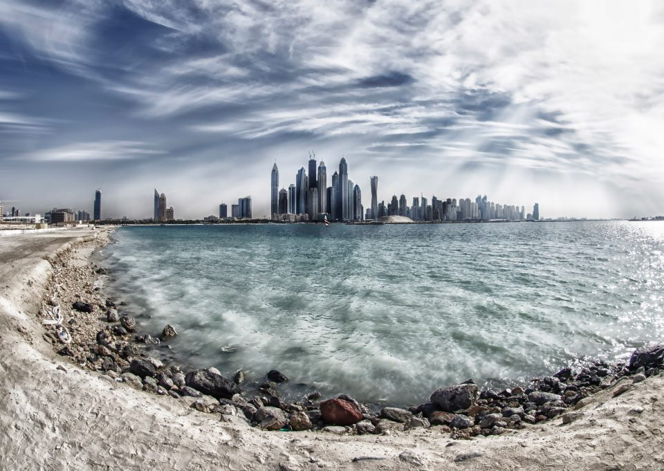 Dubai Marina Skyline by Bee Eye Photography