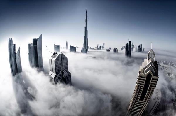 Foggy Mornings of Fall in Dubai by Bee Eye Photography