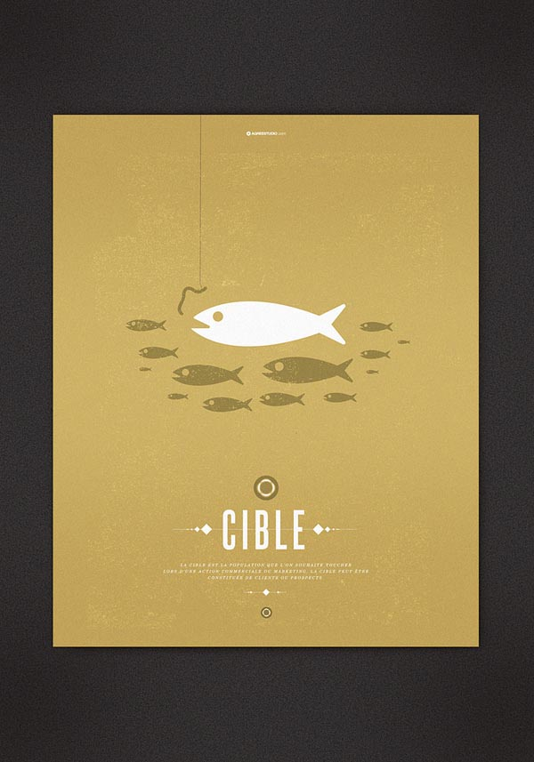 Graphic Poster Design by Agreestudio