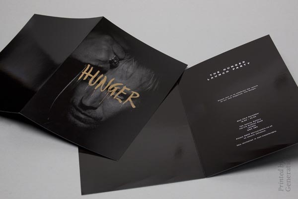 Hunger Party Invitation