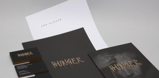 Hunger Stationery by Graphic Designer Ben Jeffrey