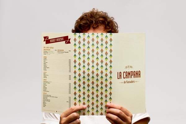 La Campana Identity Design by Comité Graphic Studio