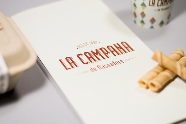 La Campana Identity by Comité Graphic Studio