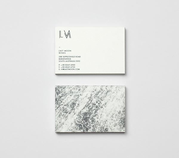 Last Moon Business Cards by Graphic Designer Tomas Sabbatucci