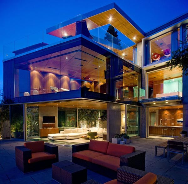 Lemperle Residence in La Jolla, California by Architect Jonathan Segal