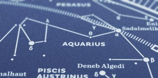 Map II – The Southern Sky Silkscreen Print
