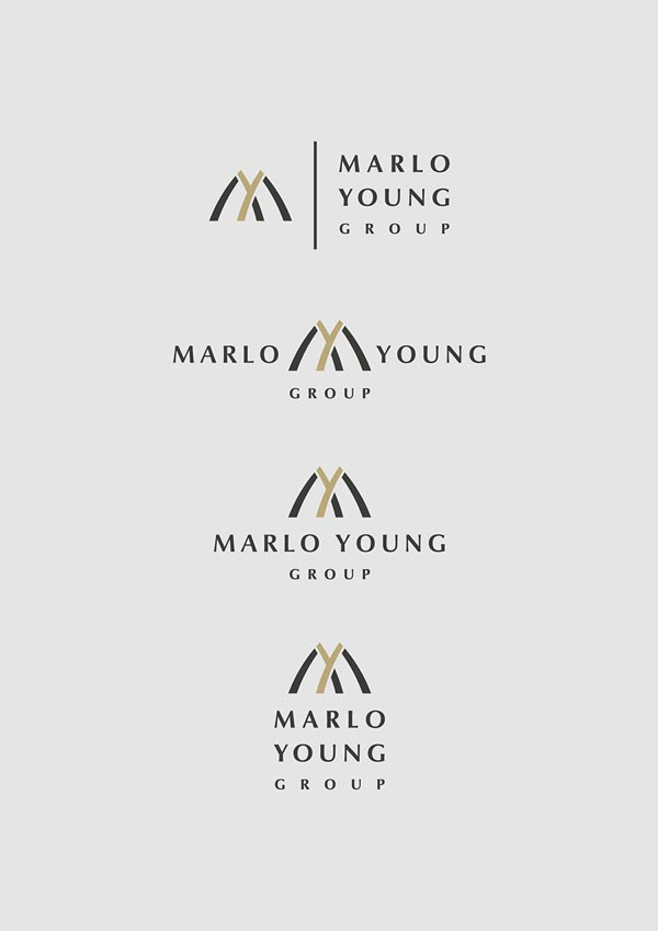 Marlo Young Group - Logo Design by Marcel Buerkle
