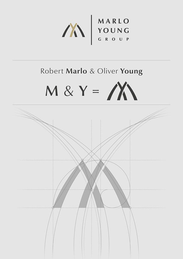Marlo Young Group - Logo Development by Marcel Buerkle