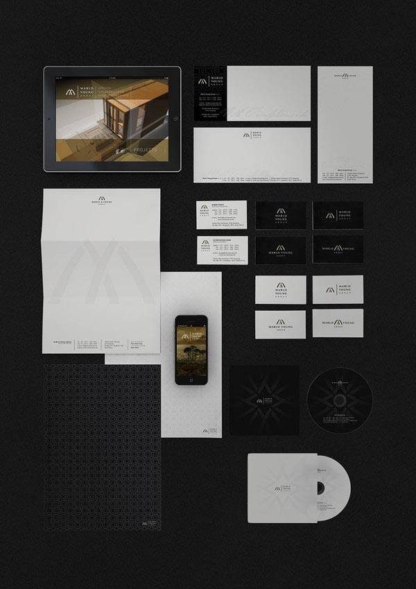 Marlo Young Group - Visual Identity Design by Marcel Buerkle