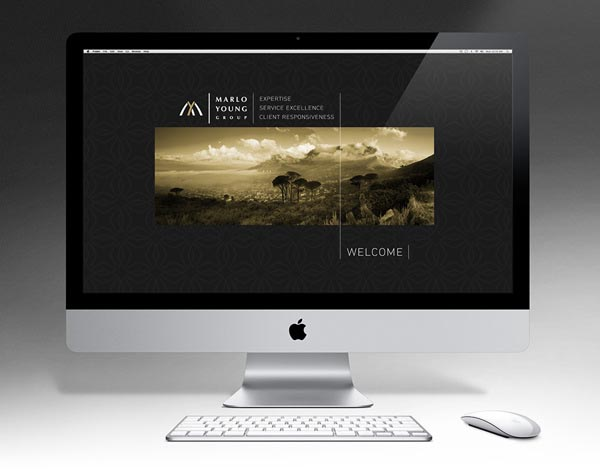 Marlo Young Group - Website Design by Marcel Buerkle