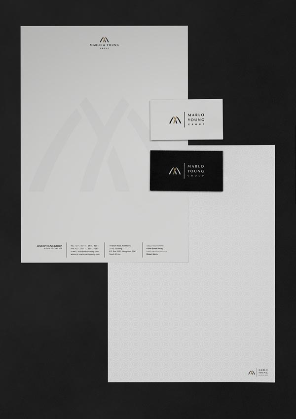 Marlo Young Group - Stationery Design by Marcel Buerkle