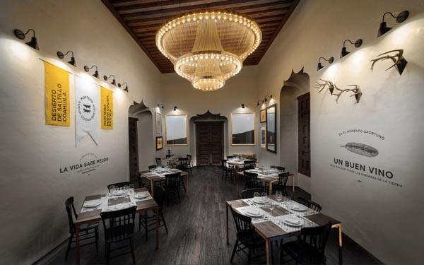 Montero Restaurant Interior Design by Anagrama