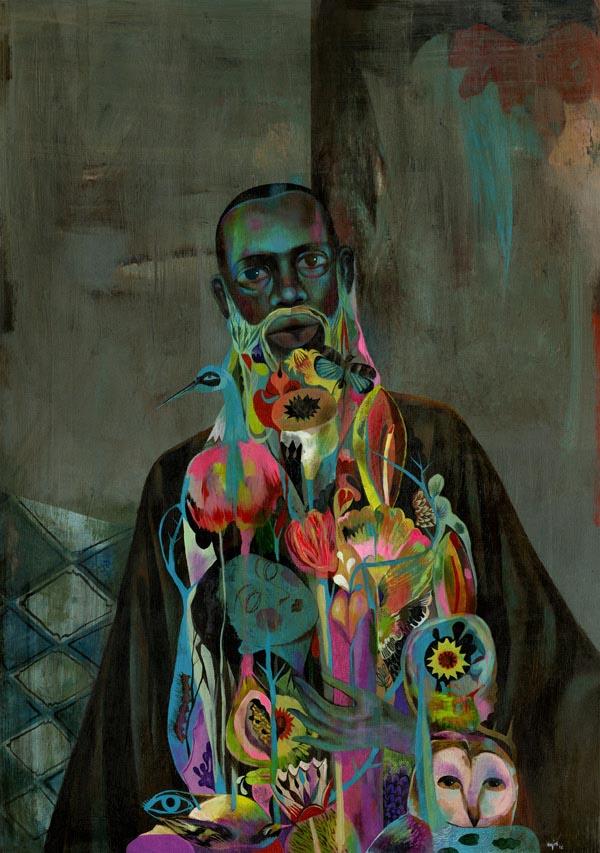 Olaf Hajek - Wiseman Painting