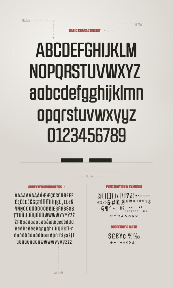 RBNo2.1 Sans Serif Font by Rene Bieder