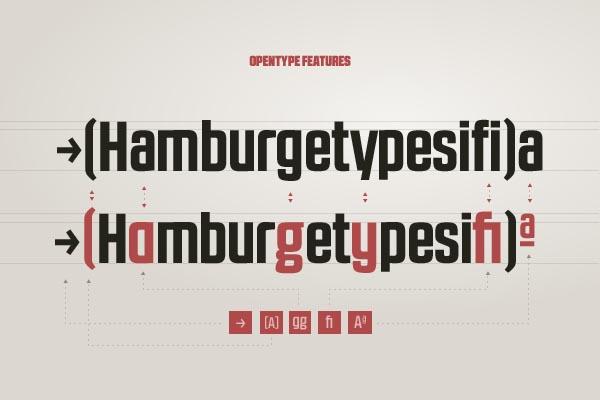 RBNo2.1 Sans Serif Typeface by Rene Bieder