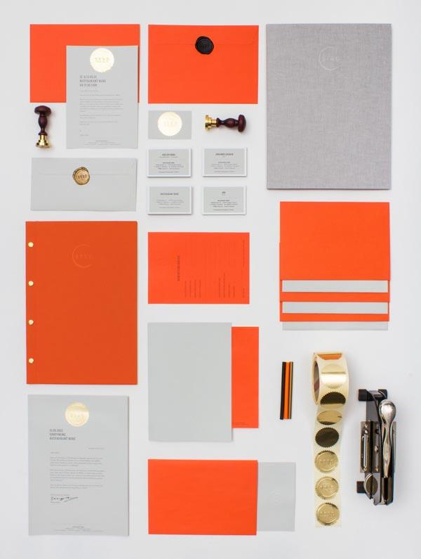 Restaurant berg branding print and web design by lsdk
