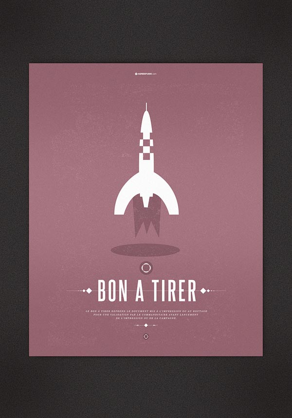 Rocket Poster Illustration by Agreestudio