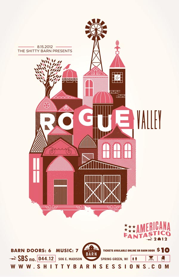Rogue Valley - Illustration Artwork by Alex Perez