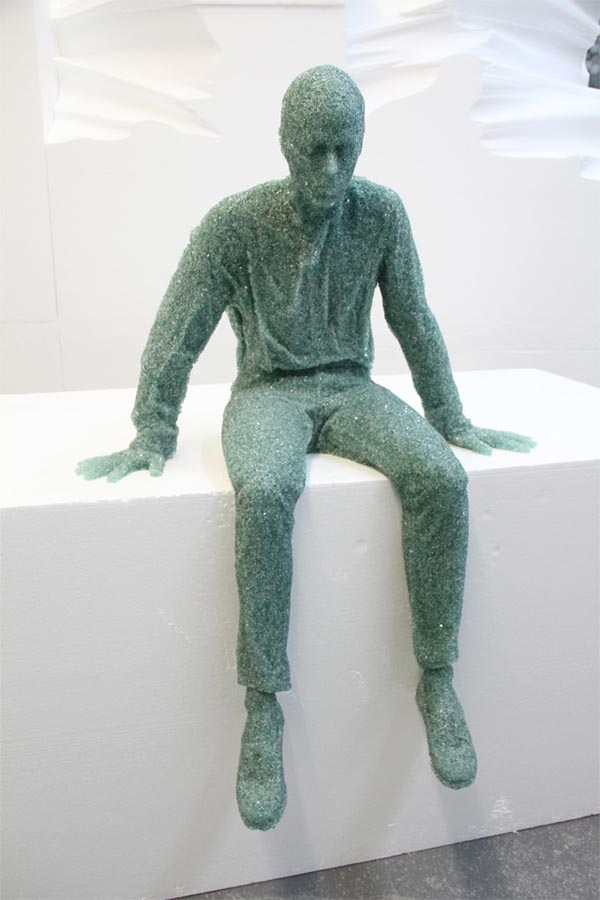 Figurative Sculptures And Installations By Daniel Arsham