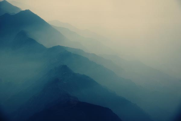Somewhere in Between - Morning Fog Photography by Lukas Kozmus