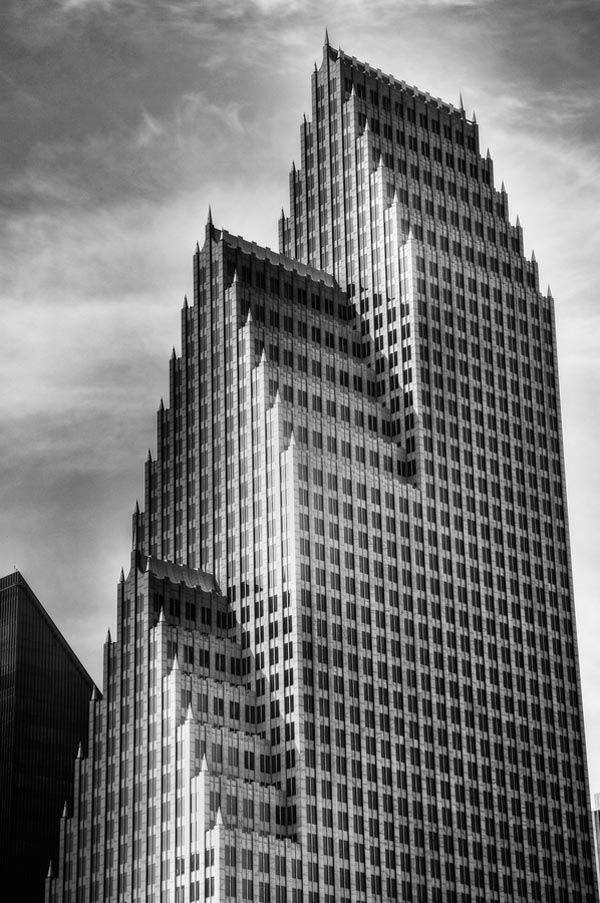 The Bank of America Center in Houston, Texas, USA - Urban Architecture Photography