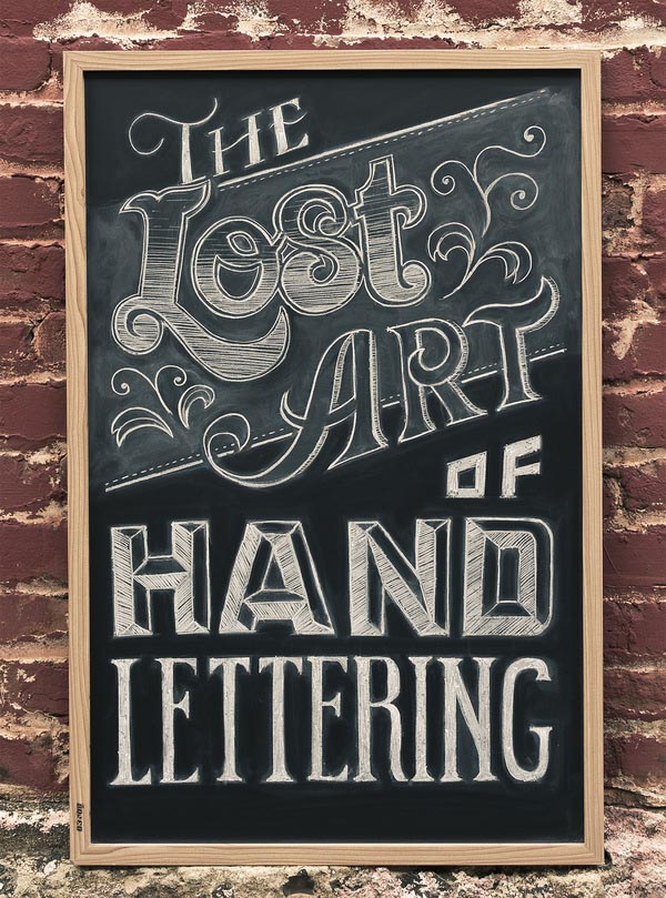 Handwritten Lettering by Chris Yoon