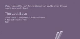 The Lost Boys - Minimal Movie Poster Design by iamhingo