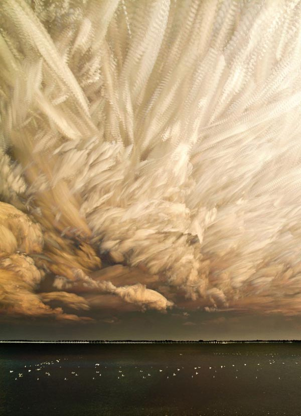 Time Stacks - Timelapse Clouds Photography by Matt Molloy