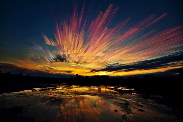 Time Stacks - Timelapse Evening Sky Photography by Matt Molloy