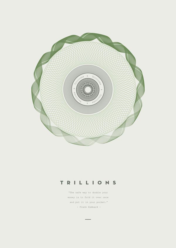 Trillions - Graphic Art Print by Derek Boateng