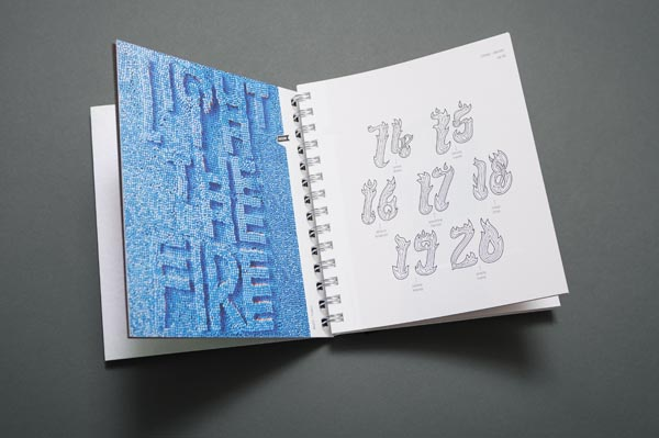 Values! Trend Diary 2013 by Eiga Design with artworks of 53 Artists and Designers