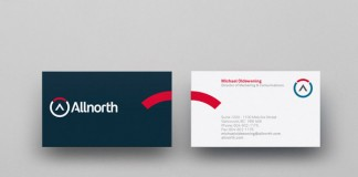 Allnorth Business Cards