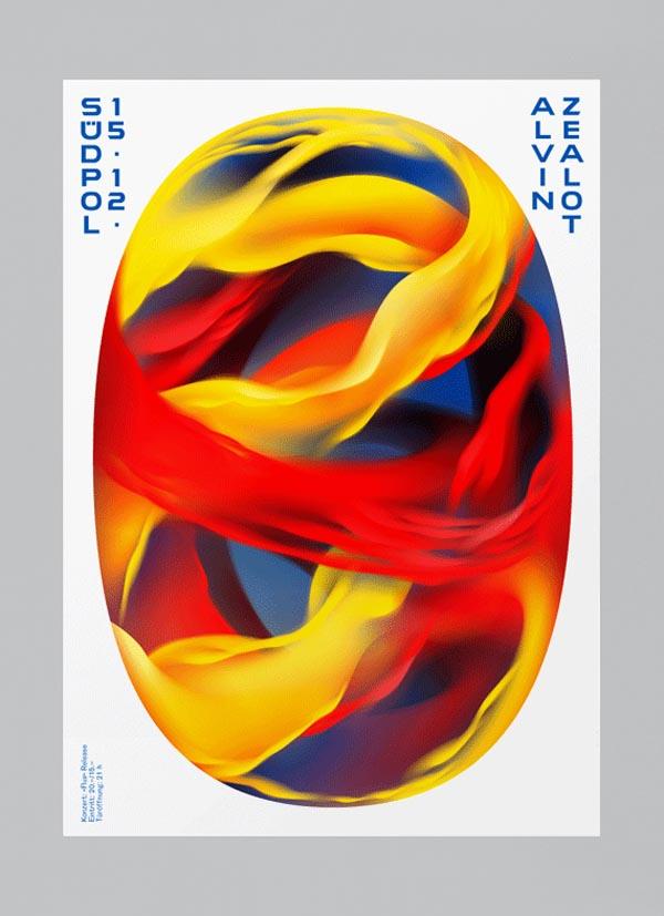 Alvin Zealot - Südpol Poster Design by Felix Pfäffli