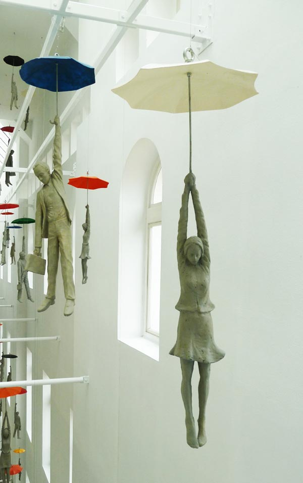Art Installation: Slight Uncertainty by Czech artist Michal Trpák