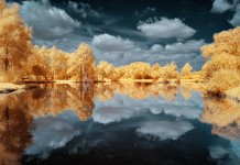 Atmospheric Infrared Landscape Photography by David Keochkerian