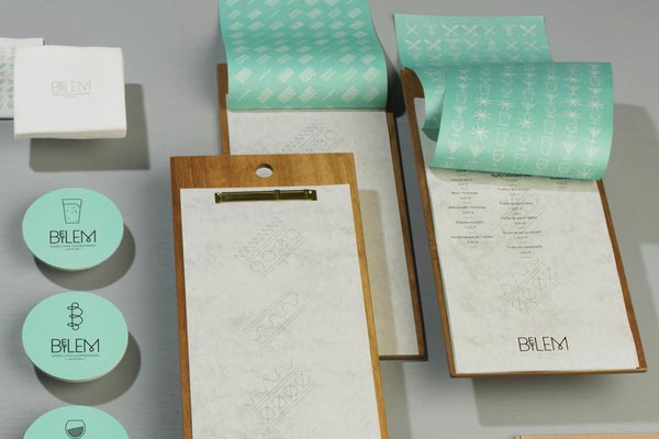 Betlem Gastro Bar Brand Design Material by Toormix