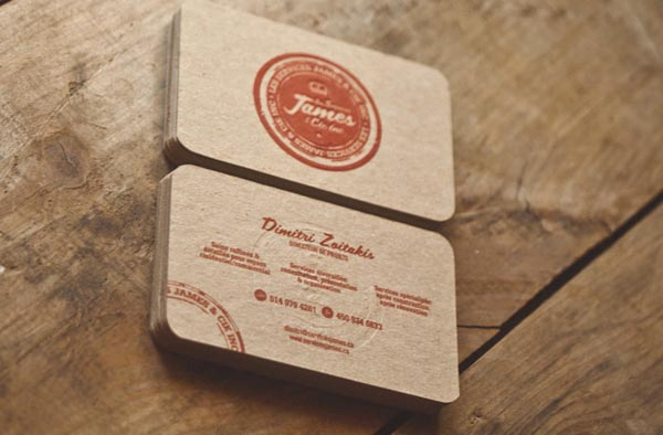Business Card Design by Taylor David
