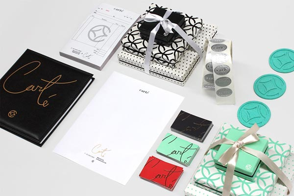 Carté - Full Stationery Design by Firmalt