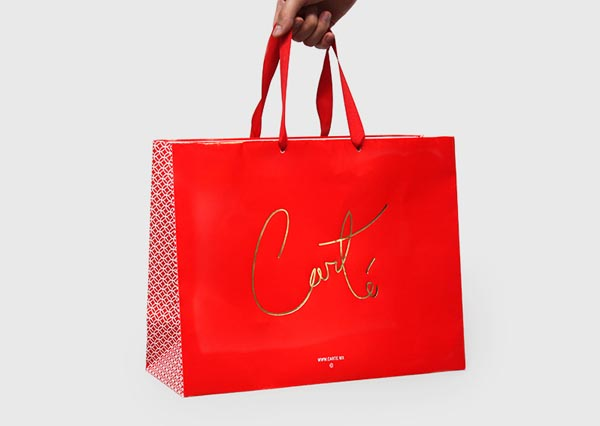 Carté - Red Bag Brand Design by Firmalt