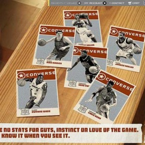 Converse Basketball - Interactive Web Design by Bruce Yan