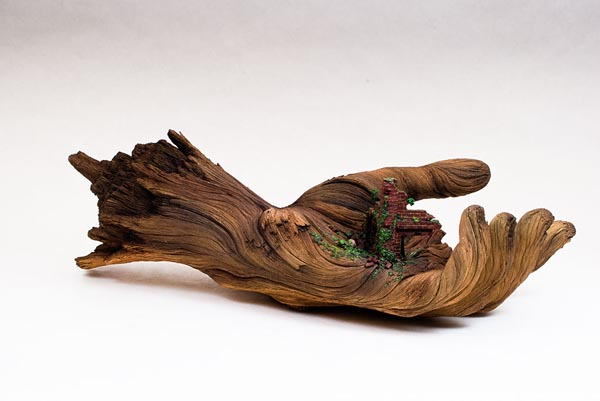 Cycle Of Decay U2013 Ceramic Hand Sculpture Looks Like A Tree Branch ...