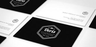 Deris Tattoo Studio - Identity Design by Andrés De la Hoz