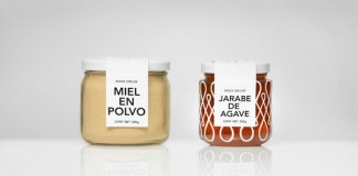 Doce Cielos - Honey-Based Products - Package Design by Anagrama