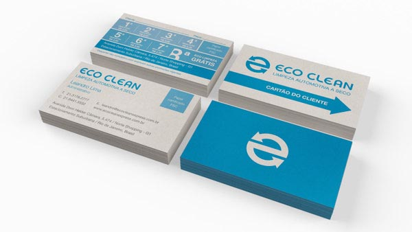Eco Clean - Business Card Design by Walter Mattos