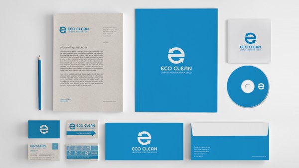 Eco Clean - Visual Identity Design by Walter Mattos