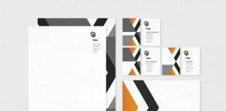Fube stationery design by SuperBruut