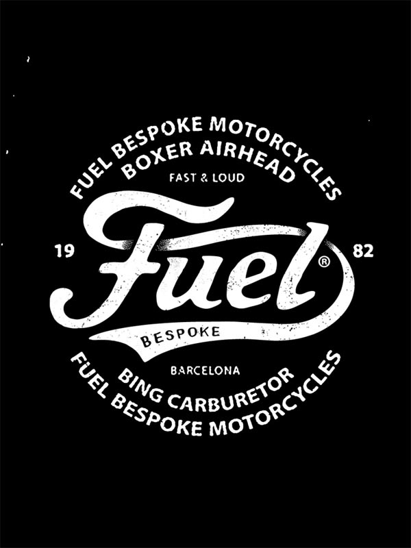 Fuel Motorcycles Logo by BMD Design