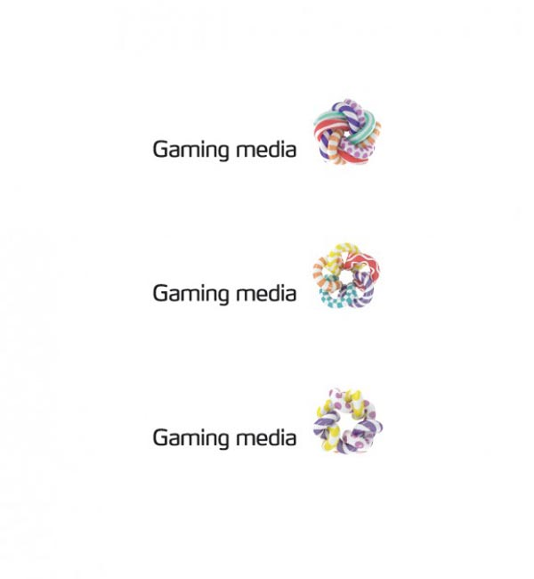 Gaming Media Logo Design by Roma Erohnovich