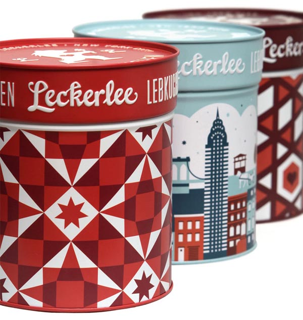 Gingerbread Leckerlee Lebkuchen - Tin Package Design by Strohl